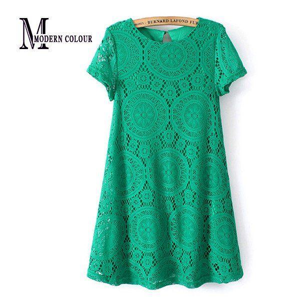 All Drown In Love Crochet Smart Dress