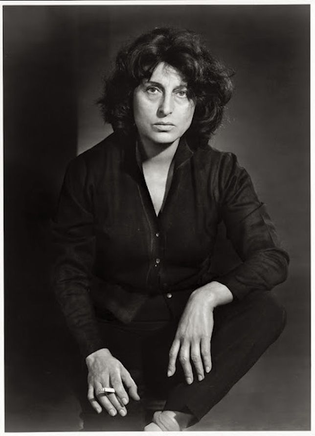 Anna Magnani by Yousuf Karsh, 1958