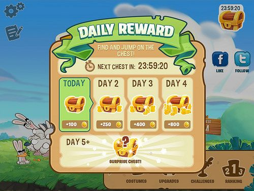 Run Sheldon Daily Reward: screenshots, UI