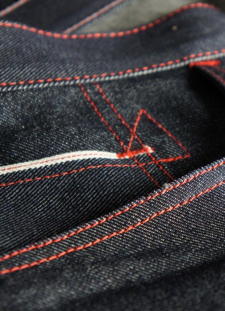 Jeans selvedge 12.oz coupe demislim