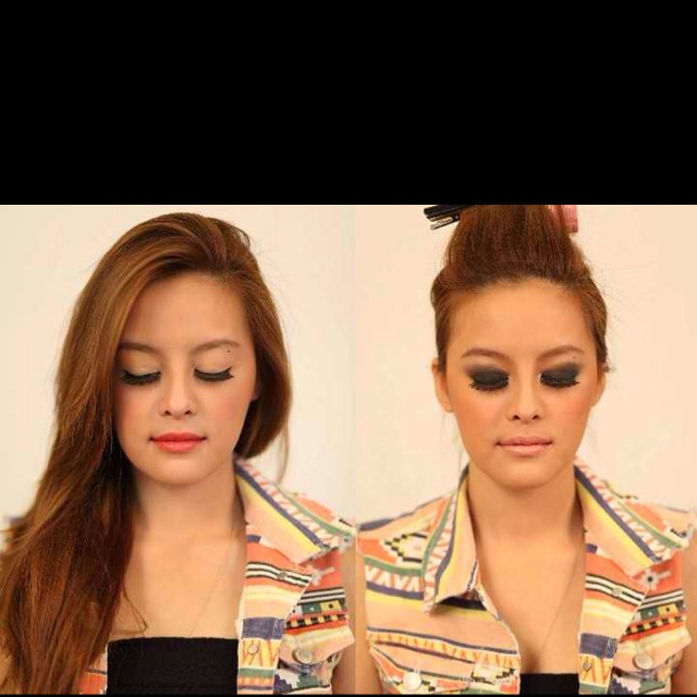 Day to Night make-up. I looove her! ♡