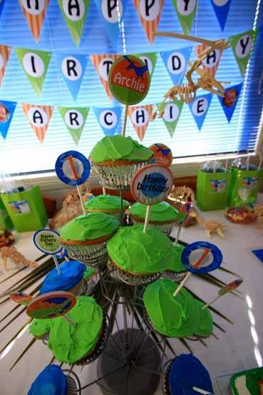 Boy's party - Dinosaur party printable collection
