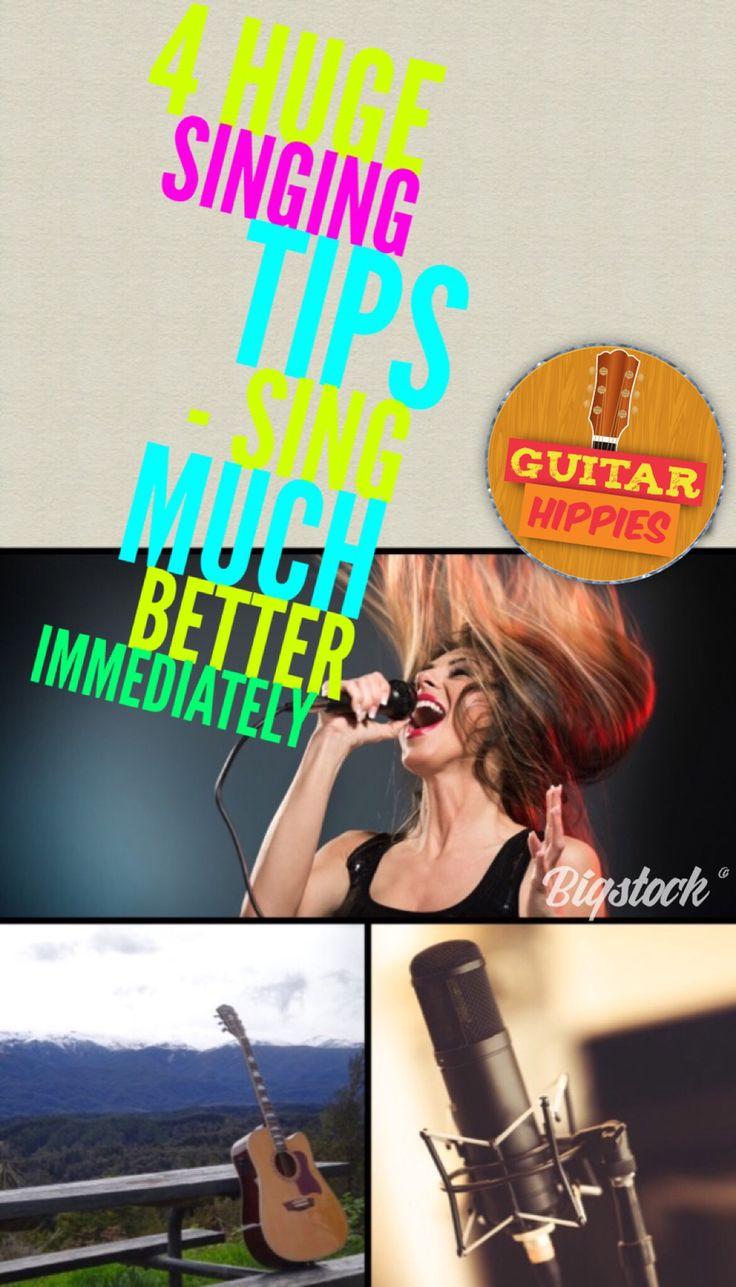 Best Singing Tips on GuitarHippies
