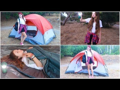 Camping/Vacation Makeup, Hair, Outfits, + Essentials! - StilaBabe09