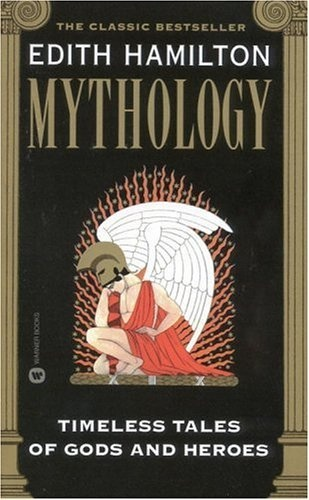 Edith Hamilton's Mythology - a high school favorite of mine that also works for ages 9 and up. It reads like short stories and is excellent to read alongside Percy Jackson.