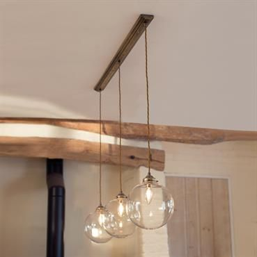 Holborn Triple Pendant Track Light | Spherical Glass | Classic | Modern | Jimu2026 & Best 25+ Pendant track lighting ideas on Pinterest | Kitchen track ... azcodes.com