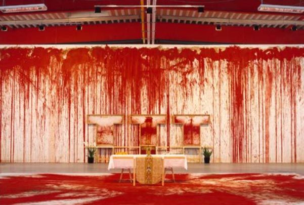 Hermann Nitsch: Bloody Art, Performance Art, Art 2, Nitsche Blood, Nitsch Des