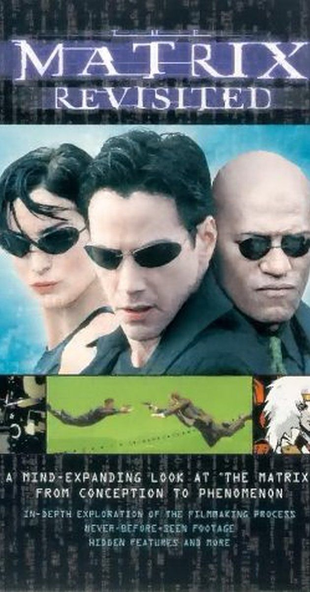 """Directed by Josh Oreck.  With Lorenzo di Bonaventura, Joel Silver, Bill Pope, Owen Paterson. An """"extras-only"""" DVD, packed with documentaries and behind-the-scenes footage from the filming of the ground-breaking 1999 movie """"The Matrix"""". Includes a rare interview with the elusive writer/directors, the Wachowski Brothers; insights from the cast and crew into the production process; and a preview of things to come: a series of anime films and two sequels."""