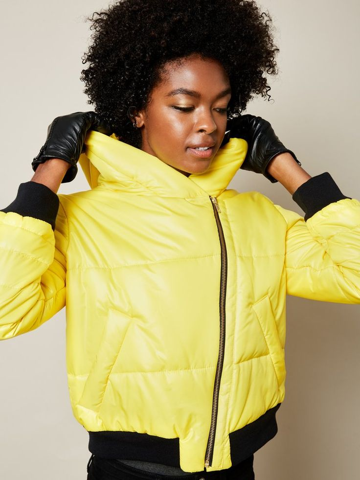 SALE: The Jess Snow in Yellow
