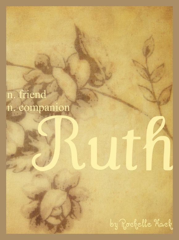 Baby Girl Name: Ruth. Meaning: Friend; Companion. Origin: Hebrew; Irish. http://www.pinterest.com/vintagedaydream/baby-names/