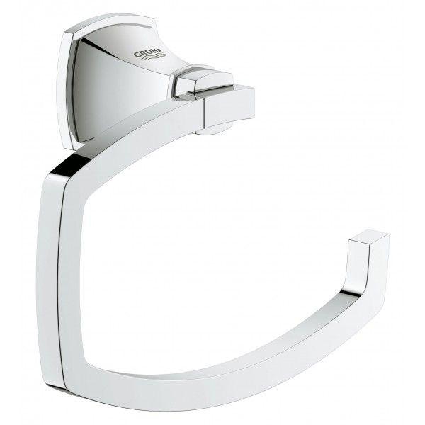 Держатель туалетной бумаги GROHE Grandera без крышки хром 40625000