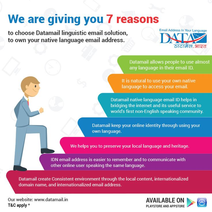Show your support by creating your first free linguistic email address in your native language.  Install app: https://www.datamail.in/app-eng.html  #datamail #emailservice #linguisticemail #emailsolution #idn #eai #DigitalIndia