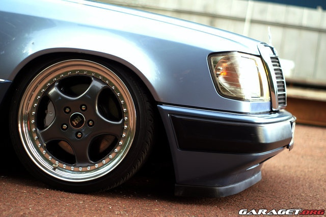 Correct amount of lowering (w202 springs, 16x8 AMG Pentas, 225/45/16 rubber)