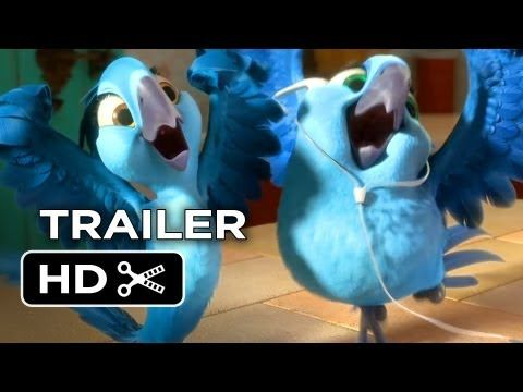 New Trailer for the Anne Hathaway, Jamie Foxx Animated Sequel 'Rio 2.'
