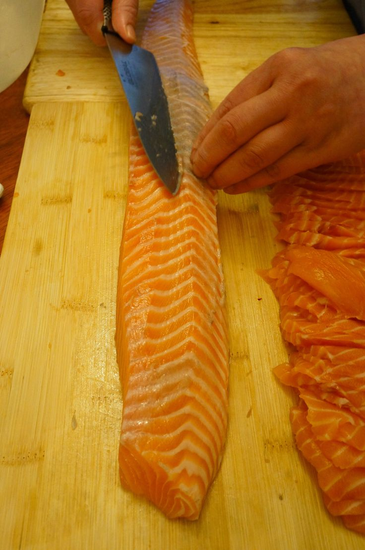 Introduction to sushi making: How to cut nigiri and sashimi (chapter 2)   Stephylicious