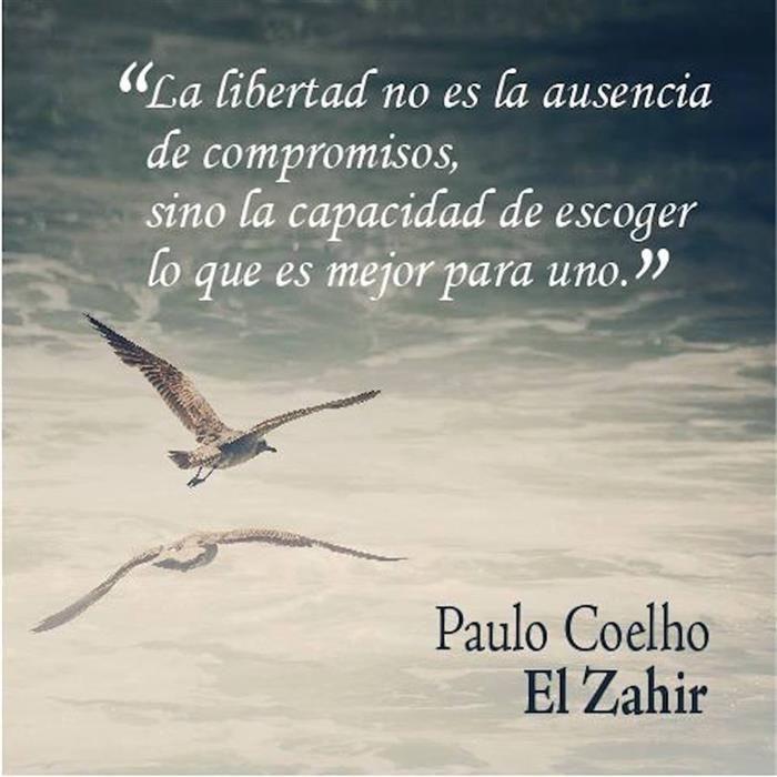 La libertad no es la ausencia de compromisos, sino la capacidad de escoger lo que es mejor para uno.