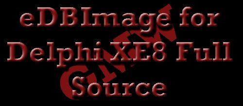 eDBImage for Delphi XE8 Full Source