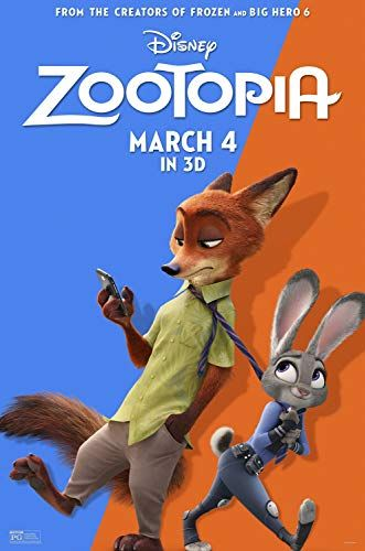 Jason Bateman And Ginnifer Goodwin In Zootopia 2016 Zootopiya