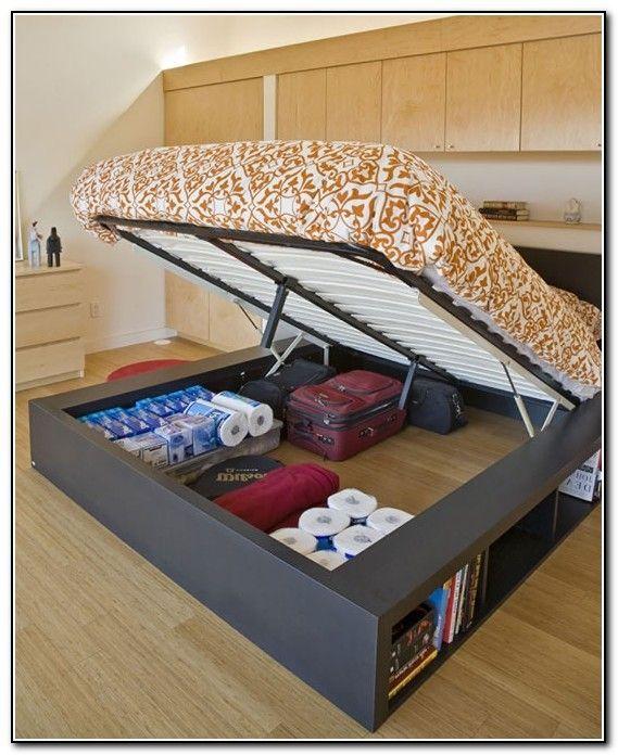 under bed storage diy - Google Search