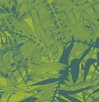 зеленые обои с листьями PCL017/08 Christian Lacroix