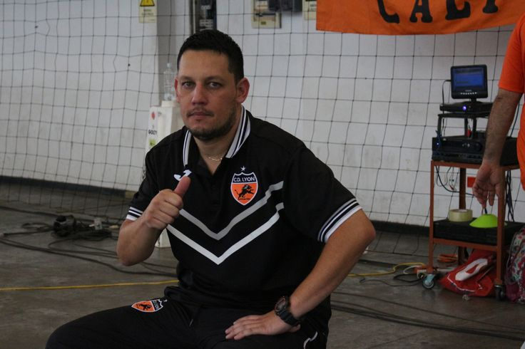 Douglas Franco, DT de Deportivo Lyon.
