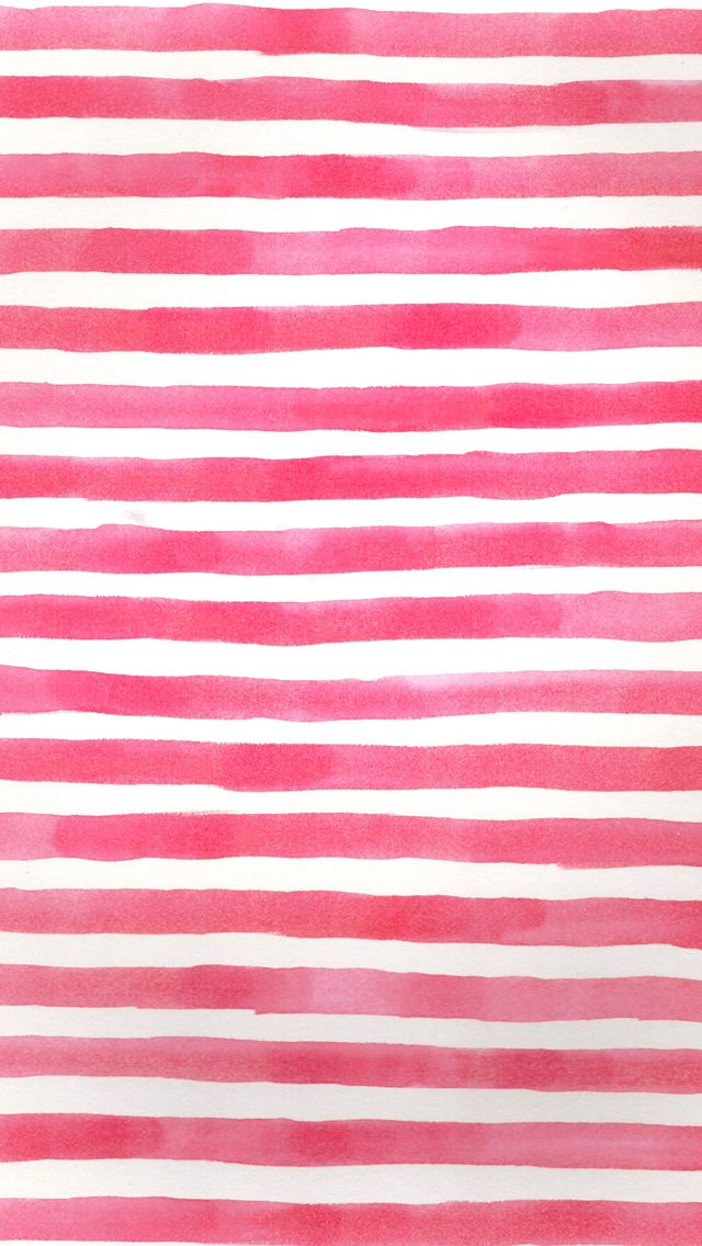 Red pink watercolour stripes iphone phone wallpaper background lock screen                                                                                                                                                                                 More
