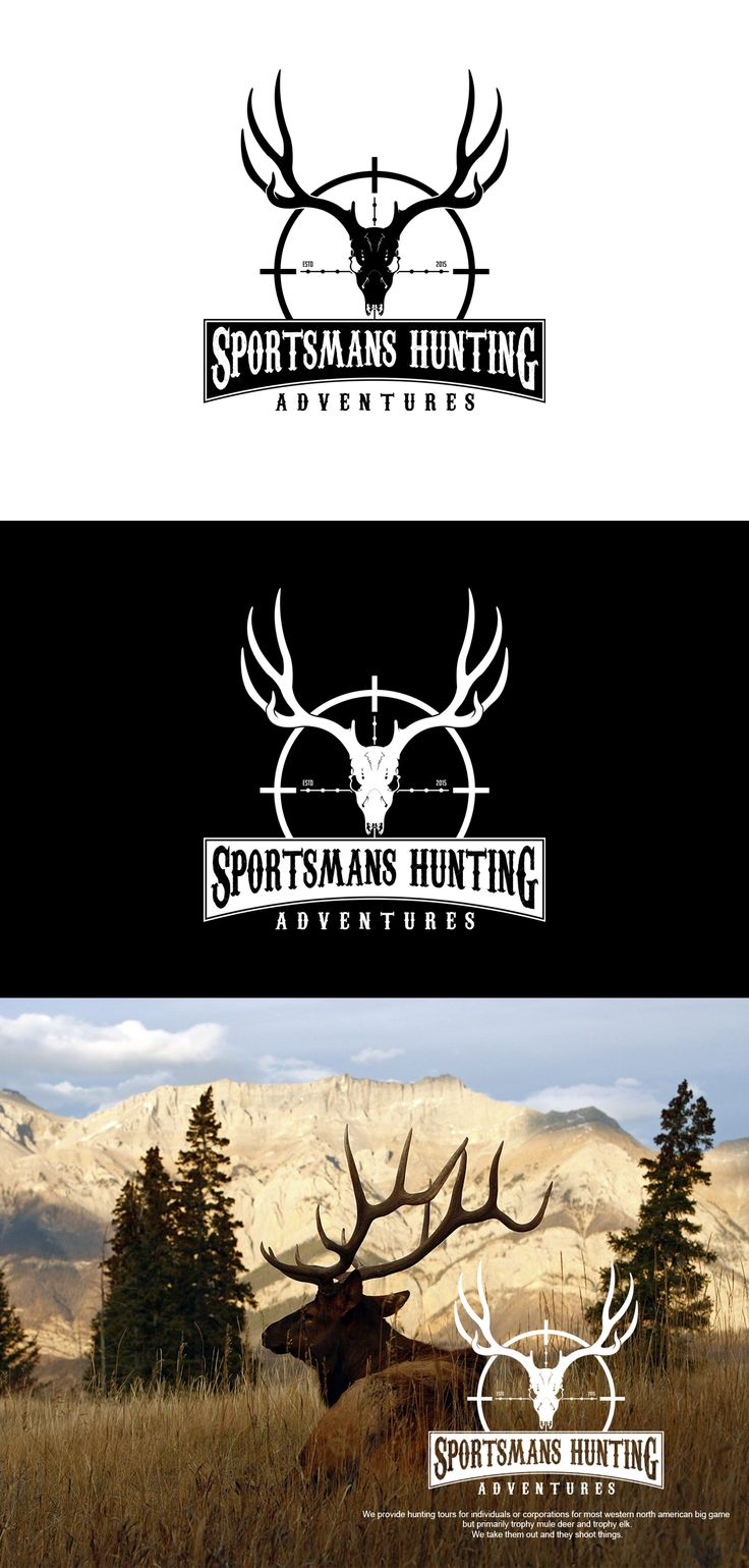 Logo For SPORTSMAN HUNTING ADVENTURES
