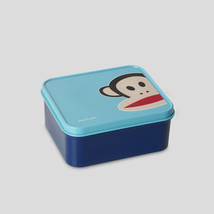 Lunch Box. Paul Frank Collection. Design by Room Copenhagen