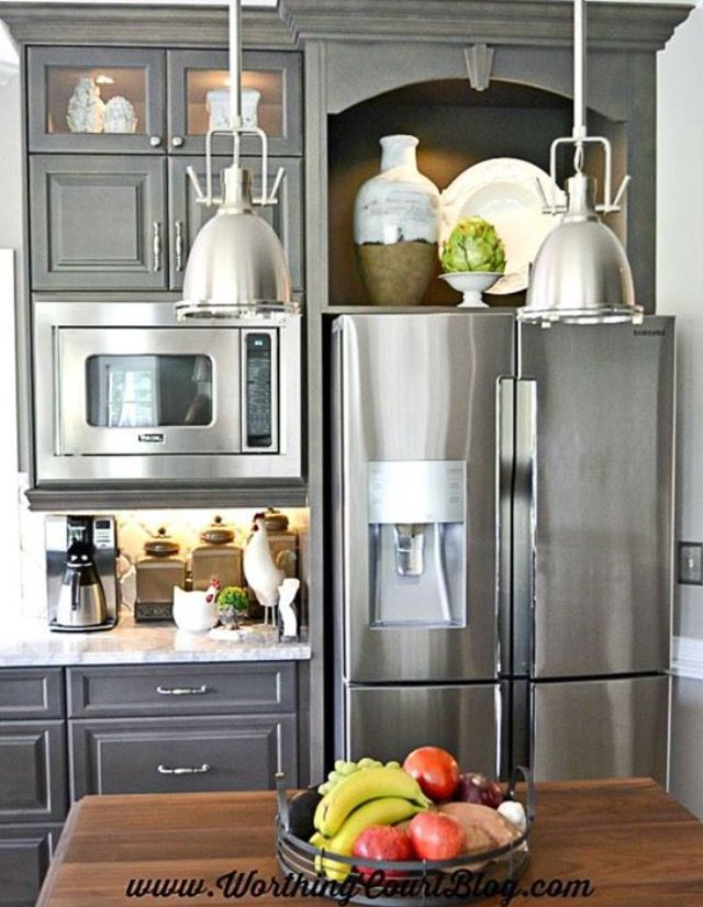 11 Best Space Above Refrigerator Images On Pinterest