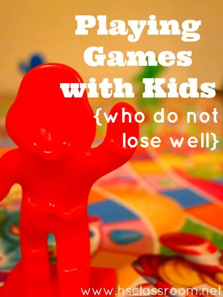 Playing Games with Kids (Who Do Not Lose Well)