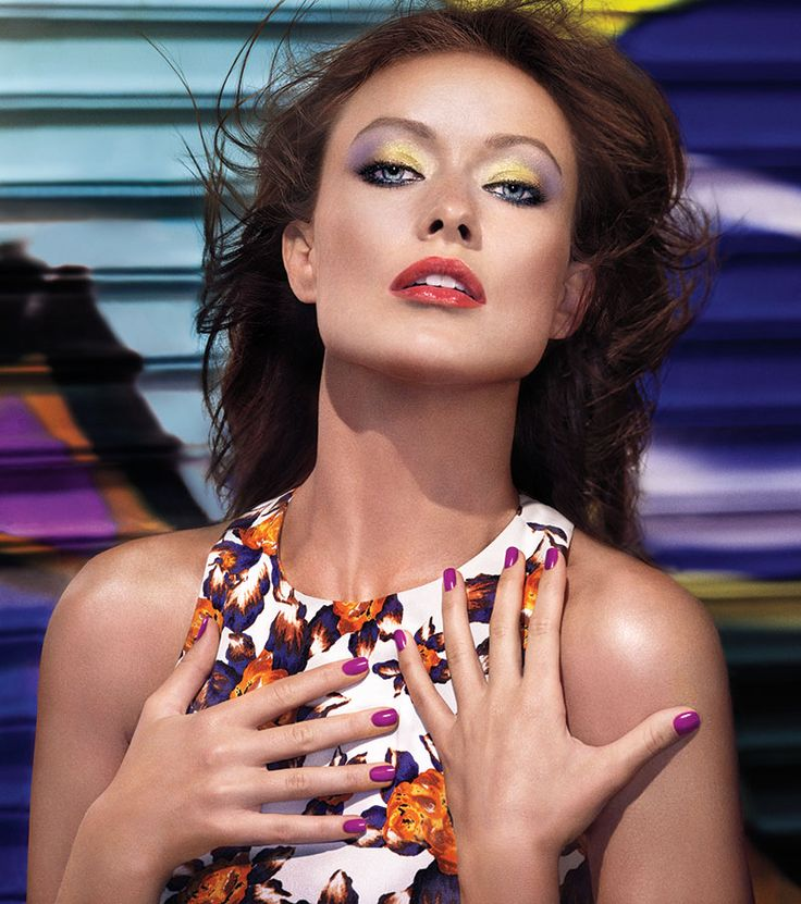196 best revlon images on pinterest revlon beauty products and how to wear bright eyeshadow olivia wilde revlon rio rush exotic ccuart Image collections