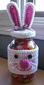 Υπέροχα Πασχαλινά αυγά και καλάθια /   Ιδέες για πασχαλινά δώρα   Lovely Easter eggs and baskets /gift ideas       Πλεκτά κουνελάκια για ...