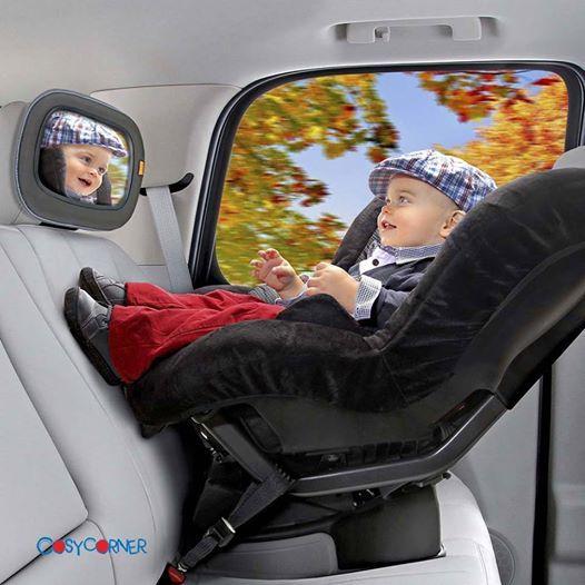 Πολύ μεγάλος καθρέπτης για να μπορείτε να παρακολουθείτε με άνεση το μωρό σας στο πίσω κάθισμα. http://www.cosycorner.gr/el/category/αξεσουάρ-αυτοκινήτου/deluxe-in-sight-βρεφικός-καθρέπτης/
