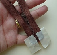 how to re-thread a zipper pull that has come completely apart...genius!