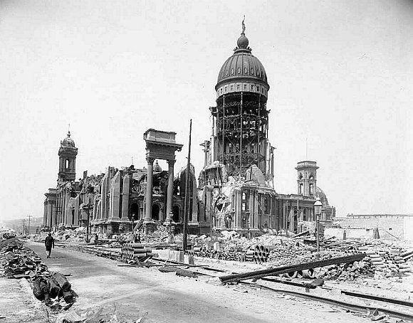 1906 San Fransico Earthquake. The California earthquake of April 18, 1906 ranks as one of the most significant earthquakes of all time.   Modern analysis estimates it registered 8.25 on the Richter scale.  The frequently quoted value of 700 deaths caused by the earthquake and fire is now believed to underestimate the total loss of life by a factor of 3 or 4. Most of the fatalities occurred in San Francisco, and 189 were reported elsewhere.
