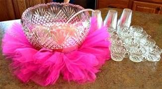 Baby Girl Shower (or 1st birthday idea) Ideas on a Budget -