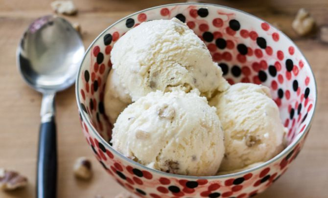 Black Walnut Ice Cream Recipe - Relish