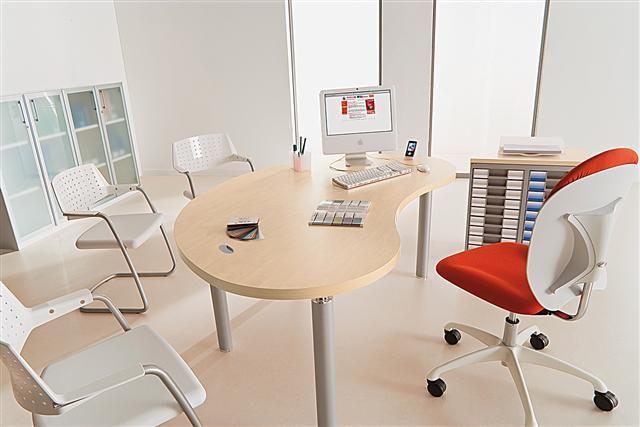 Bureau professionnel design lacour mobilier bureau for Mobilier bureau 95