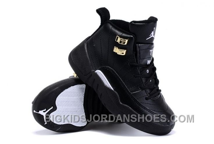 http://www.bigkidsjordanshoes.com/kids-air-jordan-12-the-master-sneaker-black-gold-online.html KIDS AIR JORDAN 12 THE MASTER SNEAKER BLACK GOLD ONLINE Only $59.22 , Free Shipping!