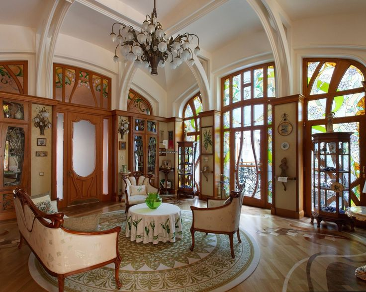 Historicism Was The Order Of Day And Art Nouveau Interior Design Arose As A Reaction To This Traditional Style