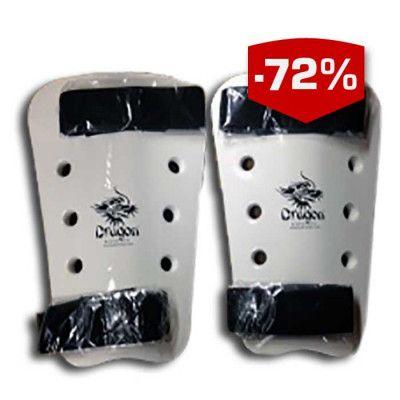 Enkelt standard benskydd eller underarmsskydd med kardborrefäste.