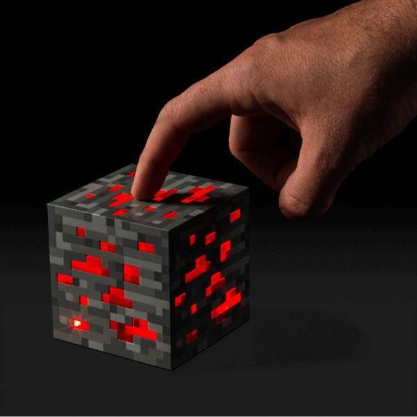 Original Minecraft Light Redstone LED Lamp 2 Color