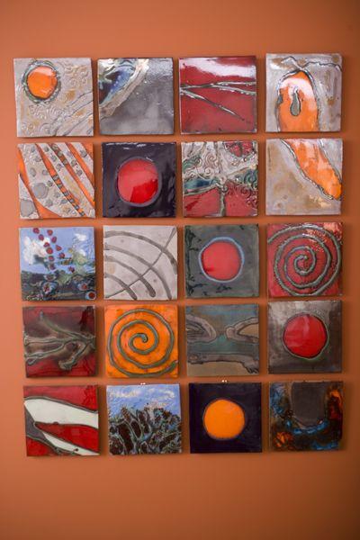 Josh Blanc  Cosmic Tiles  Handmade Tile                                                                                                                                                      More
