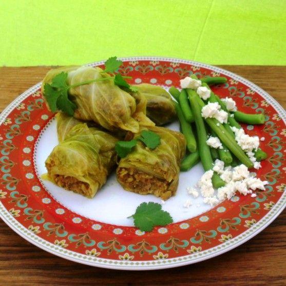 Fish breyani in a cabbage roll | Freshly Blogged