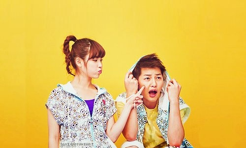 IU and Song Joong Ki