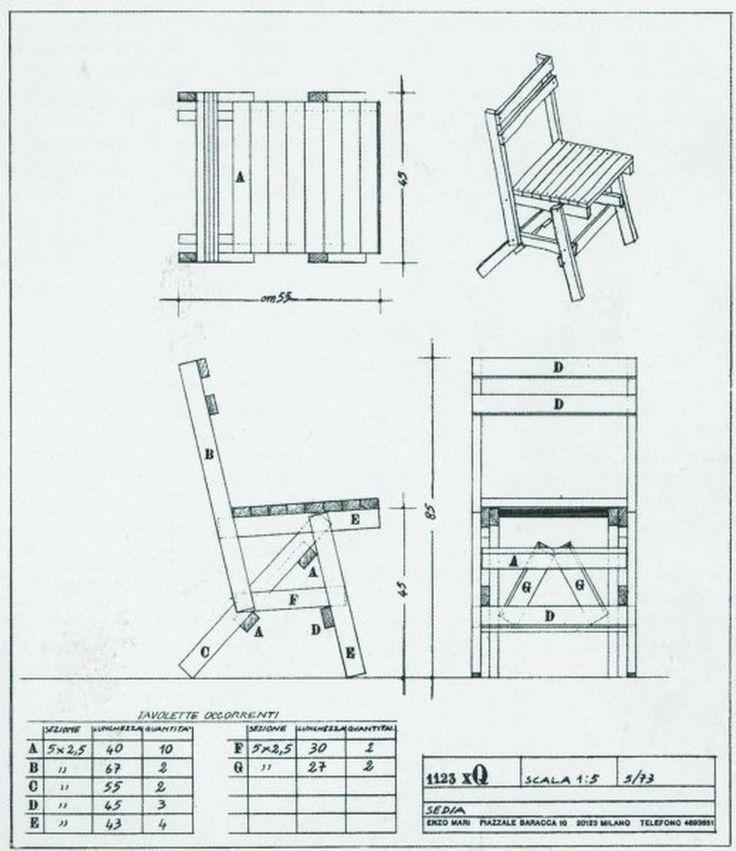 171 besten enzo mari bilder auf pinterest industriedesign produktdesign und st hle. Black Bedroom Furniture Sets. Home Design Ideas