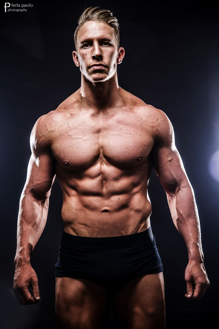 Fitness Models On Instagram Overtaking Celebrities As Role: Fitness Model Dan, Weight Gain And Muscle Growth. Hot Guy