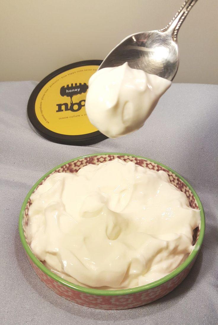 Instant Pot Homemade Noosa Yoghurt {Sweet Yogurt} | This Old Gal