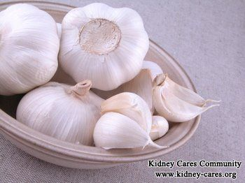 Raw Garlic Good for Stage 3 Kidney Disease    http://www.kidney-cares.org/stage-ckd-3-diet/1559.html