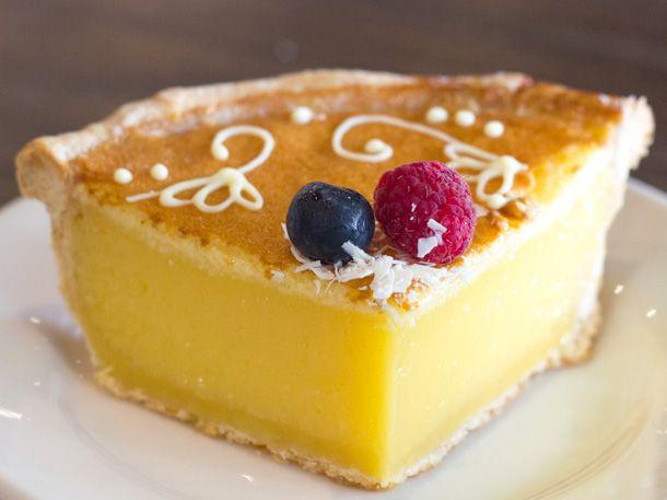 Lemon tart at Macrina Bakery, Seattle #dessert #seattle